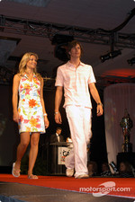 Arie Luyendyk Jr. and girlfriend