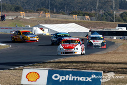 Owen Kelly leads Andrew Jones, Kevin Mundy and Matthew White