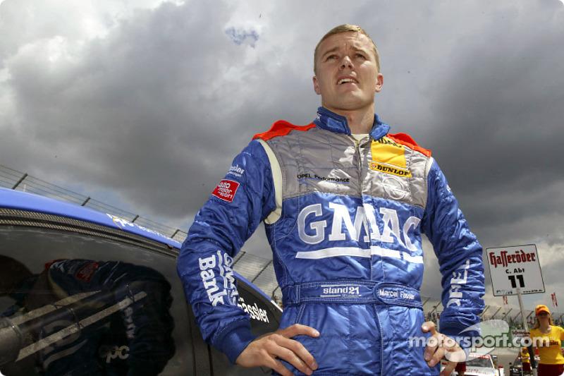 Marcel Fassler on the starting grid