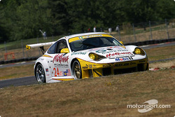#24 Alex Job Racing Porsche 911 GT3 RSR: Romain Dumas, Marc Lieb