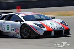 #6 Krohn Barbour Racing Lamborghini Murcielago R-GT: Tracy Krohn, Scott Maxwell