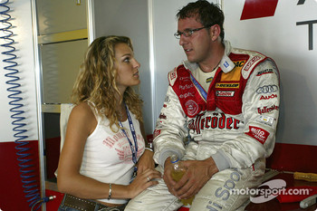 Christian Abt and girlfriend Christina Surer