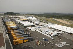 Nürburgring paddock area