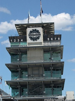 Qualifying results on the Bombardier pagoda