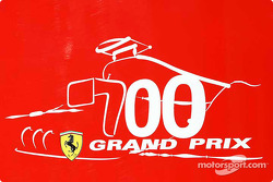 700th Grand Prix for Ferrari