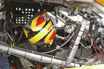 Cockpit of Rusty Wallace's car