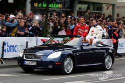 Markus Schrick, Toyota Germany President, during the drivers' parade