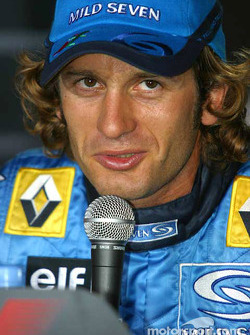Press conference: pole winner Jarno Trulli