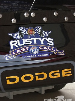 Rusty's Last Call press conference: the #2 Rusty's Last Call Dodge