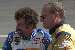 Boris Said and Ken Schrader talk before qualifying