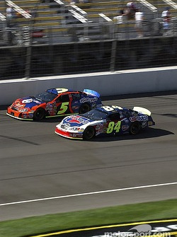 Terry Labonte and Kyle Busch