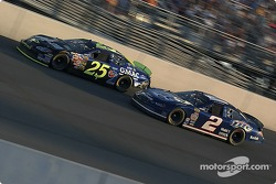 Brian Vickers and Rusty Wallace