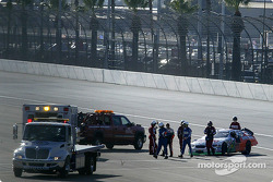 J.J. Yeley is out early