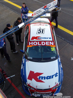 Car 51 will start on the front row of the grid