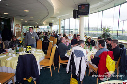 Jordan hospitality put on lunch for sponsors and guests