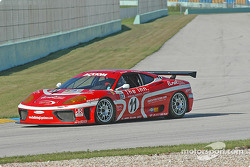 #11 JMB Racing USA Ferrari 360GT: Matt Plumb, Maurizio Mediani