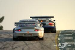 #93 Cirtek Motorsport Porsche 911 GT3 RSR: Christophe Bouchut, Stéphane Ortelli