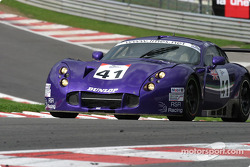 #41 RSR Racing TVR Tuscan 400R: Warren Hughes, Lawrence Tomlinson