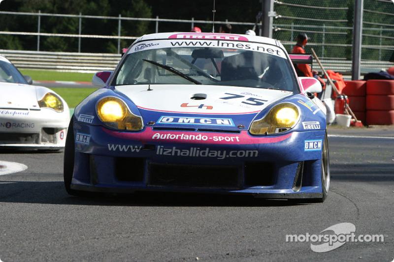 #75 Autorlando Sport Porsche 911 GT3 RS: Liz Halliday, Piers Masarati