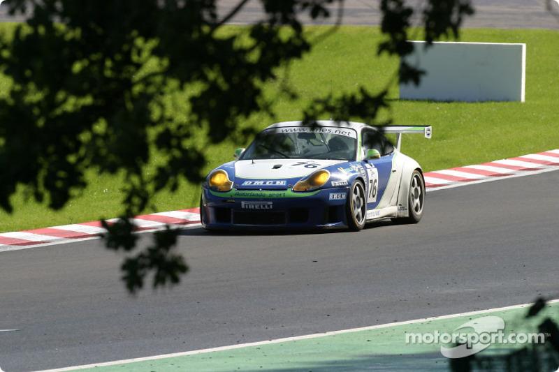 #76 Autorlando Sport Porsche 911 GT3 RS: François Labhardt, Jim Michaelian, Mauro Casadei
