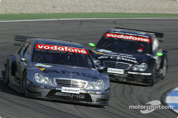 Jean Alesi and Gary Paffett