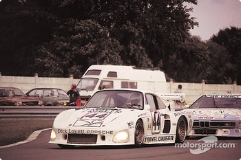 #44 Charles Ivey Racing Porsche 935 K3: John Cooper, Dudley Wood, Pete Lovett