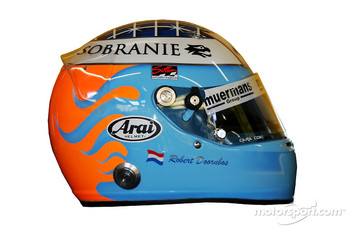 Studio shoot: helmet of Robert Doornbos