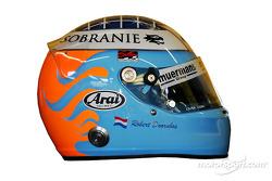 Studio shoot: helmet of Robert Doornbos