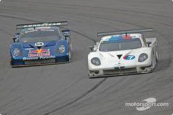 #58 Brumos Racing Porsche Fabcar: David Donohue, Darren Law, #7 Southard Motorsports BMW Fabcar: Shane Lewis, Vic Rice