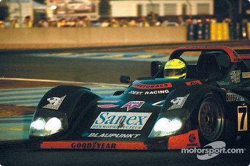 #7 Joest Racing TWR Porsche WSC 95: Davy Jones, Alexander Wurz, Manuel Reuter