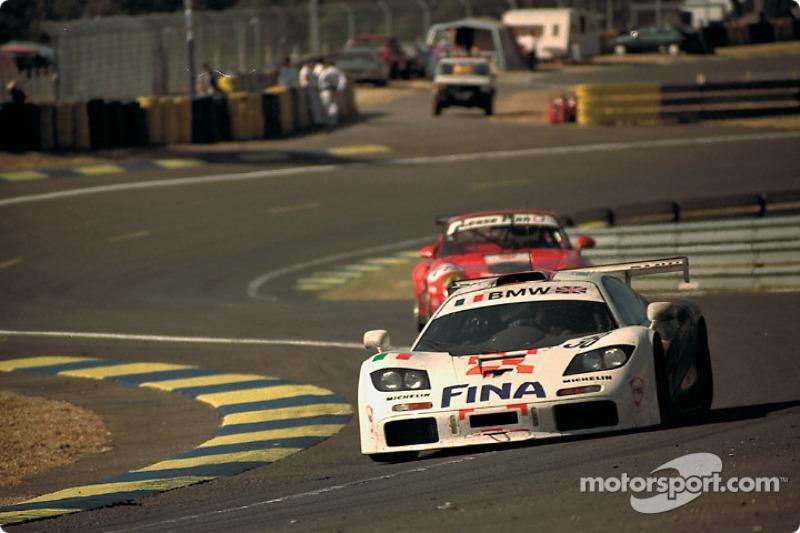 #38 Bigazzi Team McLaren F1 GTR: Jacques Laffite, Steve Soper, Marc Duez