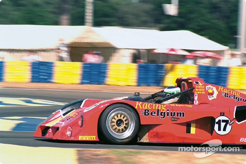 #17 Racing For Belgium Ferrari 333 SP: Éric van de Poele, Marc Goossens, Éric Bachelart