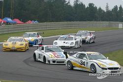 #34 Scuderia Ferrari of Washington Maserati Light GT: Jeff Segal, Rusty West, #60 Gunnar Racing Porsche GT3 RS: Gunnar Jeannette, Marino Franchitti