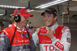 Dr. Wolfgang Ullrich and André Lotterer