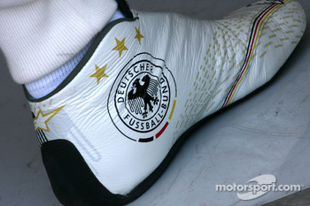 Shoes of Michael Schumacher, Mercedes GP