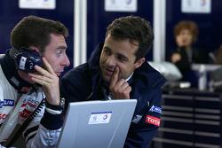 Simon Pagenaud and Pedro Lamy