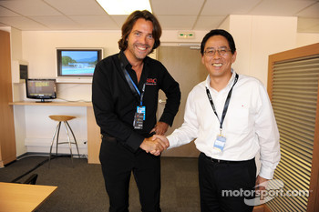 Stphane Ratel and Mr. Miyatani