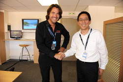 Stéphane Ratel and Mr. Miyatani