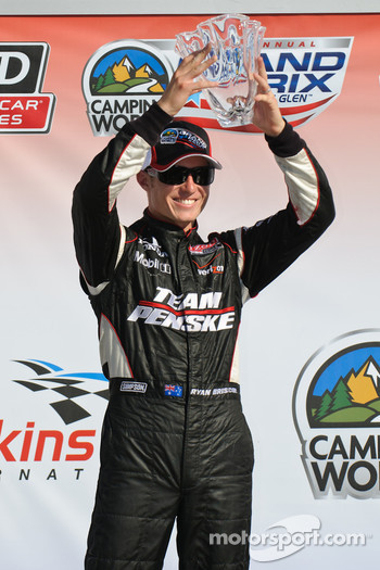 Podium: second place Ryan Briscoe