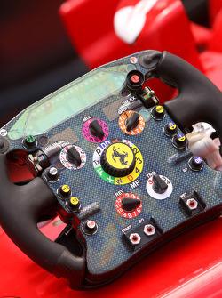 Steering wheels of Scuderia Ferrari