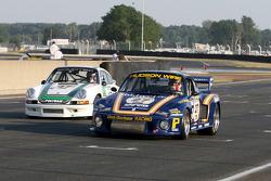 #27 Porsche 935 1978: Jean-Marc Merlin and #47 Porsche 911 RSR 2,8l 1973: Bernard Moreau