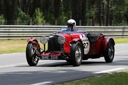 #27 Aston Martin Le Mans 1933: Philippe Lanternier, Henri De Puybusque, Gildas Lecomte du Noüy