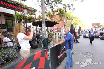 Party on John Street: Paul Tracy, KV Racing Technology