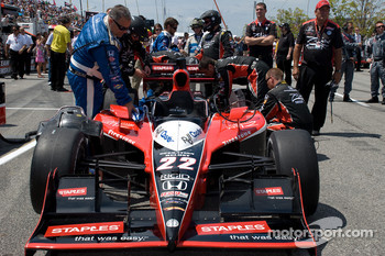 Pole winning car of Justin Wilson, Dreyer & Reinbold Racing