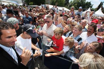 Sebastian Vettel, Red Bull Racing, meets fans