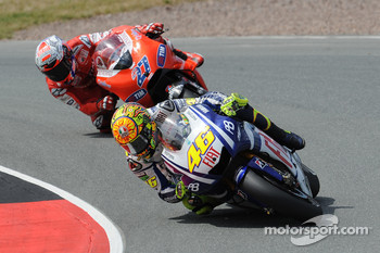 Valentino Rossi, Fiat Yamaha Team, Casey Stoner, Ducati Marlboro Team