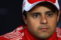 Press conference: third place Felipe Massa, Scuderia Ferrari