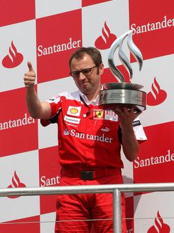 Podium: Stefano Domenicali Ferrari General Director