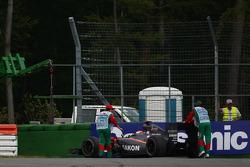 Sakon Yamamoto, Hispania Racing F1 Team leaves the race