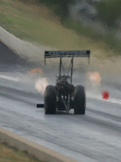 Steve Chrisman, Chrisman Driveline at the top end of Bandimere Speedway, Morrison, Colorado
